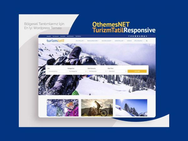OthemesNET Wordpress Turizm Tatil Temasi Responsive Teaser